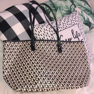 Ralph Lauren Neverfull Tile Tote Bag